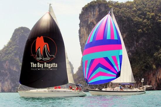 การแข่งขันเรือใบนานาชาติ เดอะ เบย์ รีกัตต้า รีกัตต้าท่ามกลางขุนเขาอันสวยงามของอ่าวพังงา