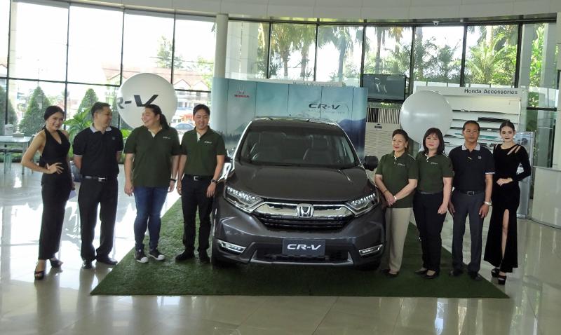 เปิดตัว All New Honda CR-V 2017