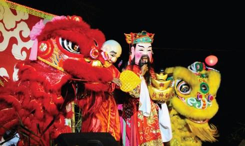 ฉลองเทศกาลตรุษจีนที่อมารี ภูเก็ต