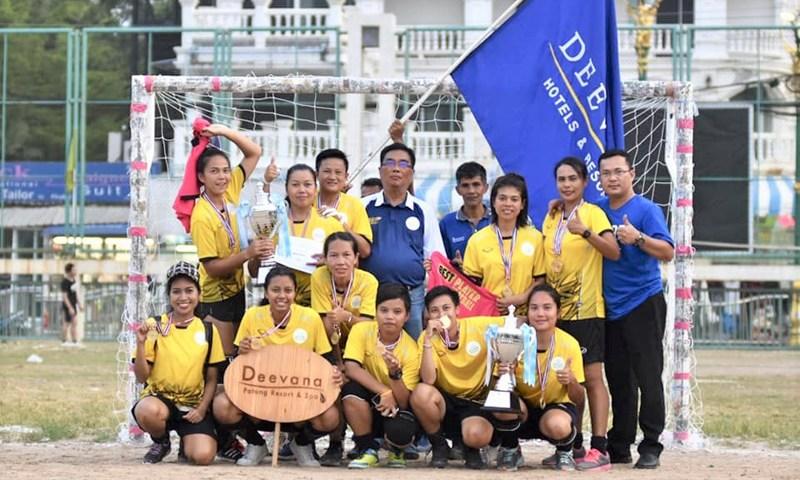 ดีวาน่า ป่าตอง รีสอร์ทแอนด์สปา คว้าชัยจากแข่งขันกีฬาชายหาดของสมาคมโรงแรมหาดป่าตองครั้งที่ 29