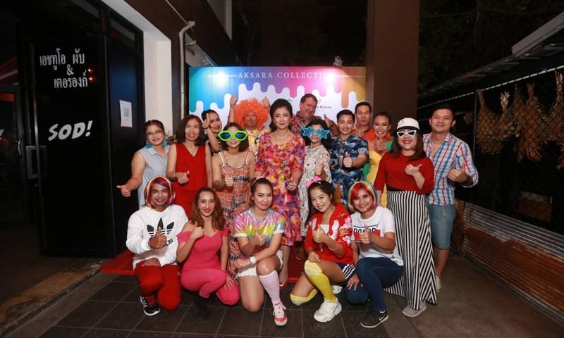 Team Member Annual Party 2018 ของกลุ่มโรงแรมในเครืออักษราคอลเลคชั่น