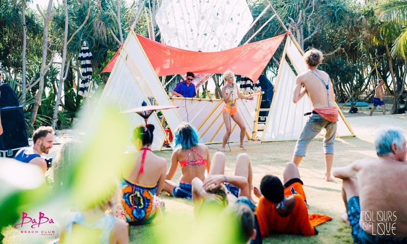 Colours of Love Thailand 2020 ที่ บาบา บีช คลับ ภูเก็ต