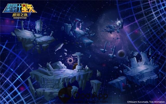 圖六、穿過「超次元空間」,前往極樂淨土,展開聖鬪士們的終極戰鬥
