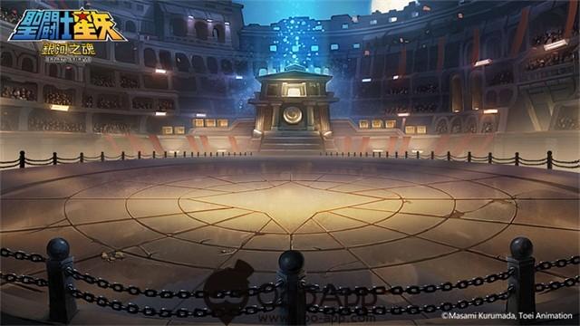 圖三、「古拉杜競技場」揭開了少年們,為了愛與世間正義羈絆的序幕