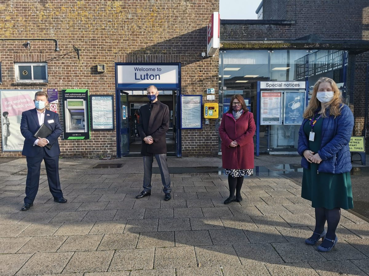 Govia Thameslink Railway is UK's first rail operator to sign new homelessness charter
