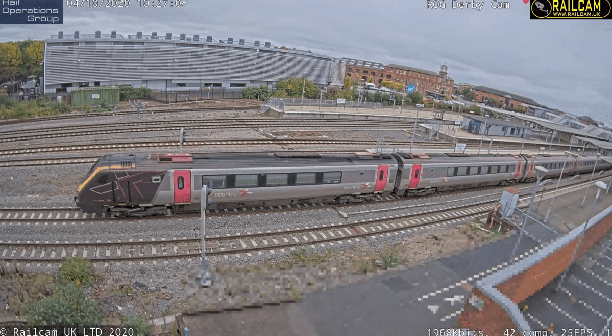 Railcam joins with Rail Operations Group for new Derby camera launch