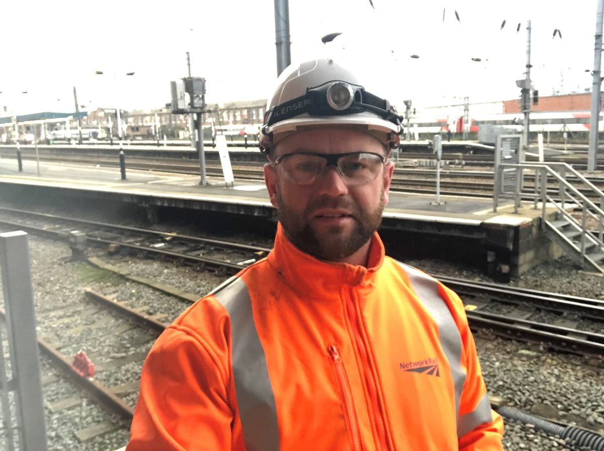 Hundreds of Network Rail workers give up Christmas with their families to improve railway reliability in Doncaster
