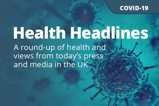 COVID-19: Daily UK Media Update, 8 April 2020 - News Blog