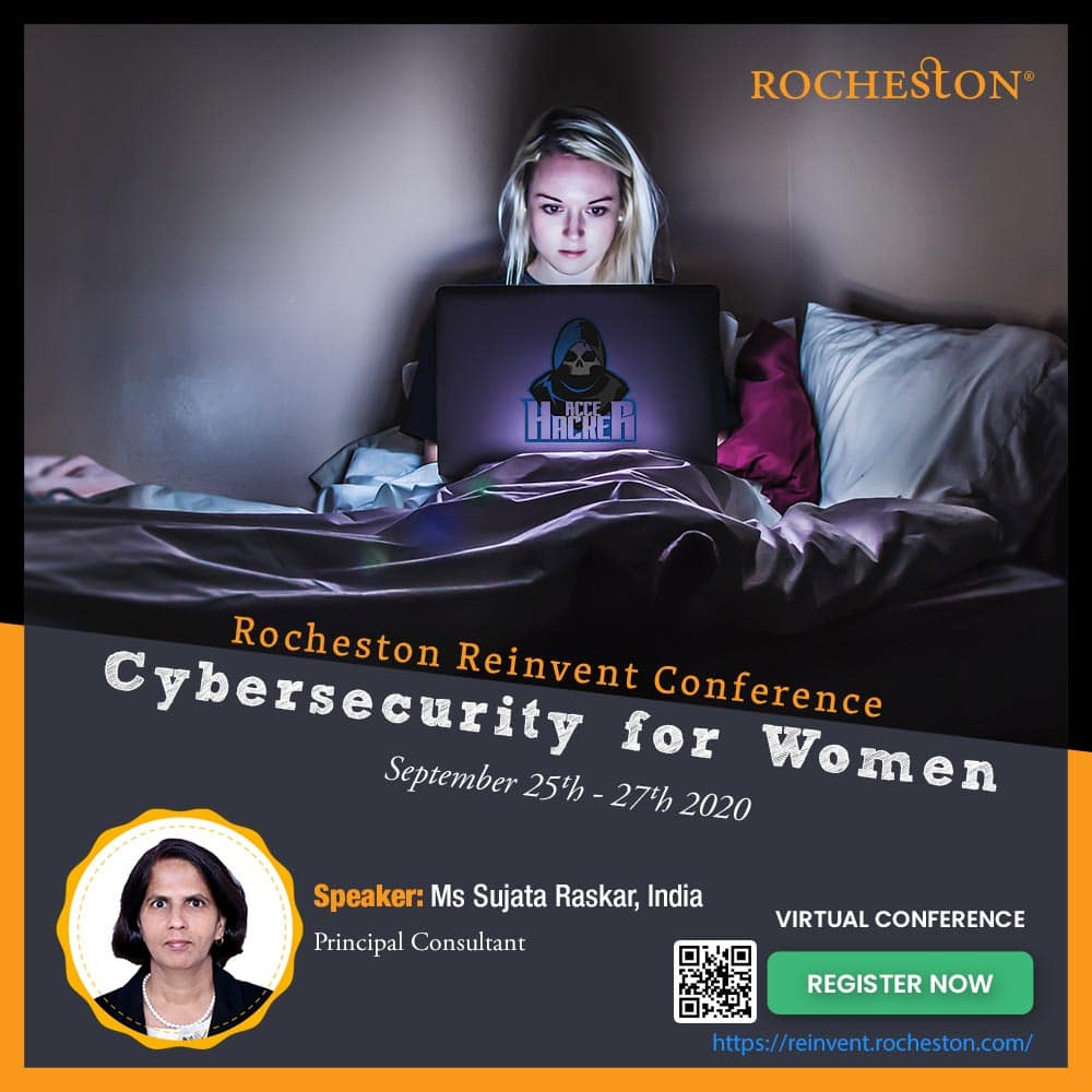 Sujata Raskar Talks on Women in Cybersecurity Bringing Holistic and Futuristic Solutions