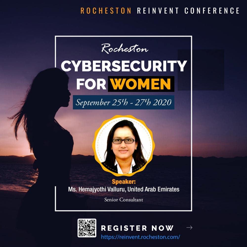 Hemajyothi Valluru - Rocheston Reinvent Conference