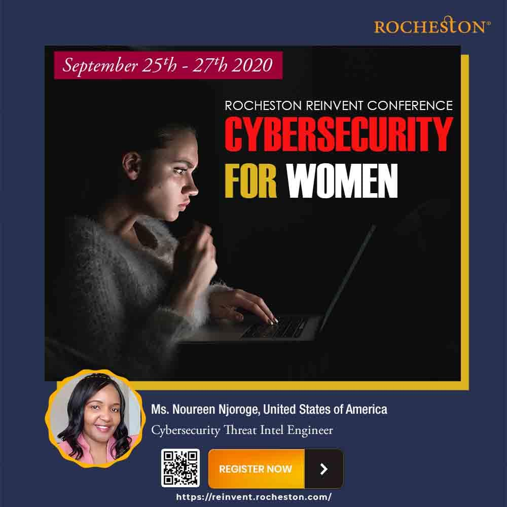 Noureen Njoroge Talks on Overcoming Imposter Syndrome in Cybersecurity and the importance of mentorship in this industry.
