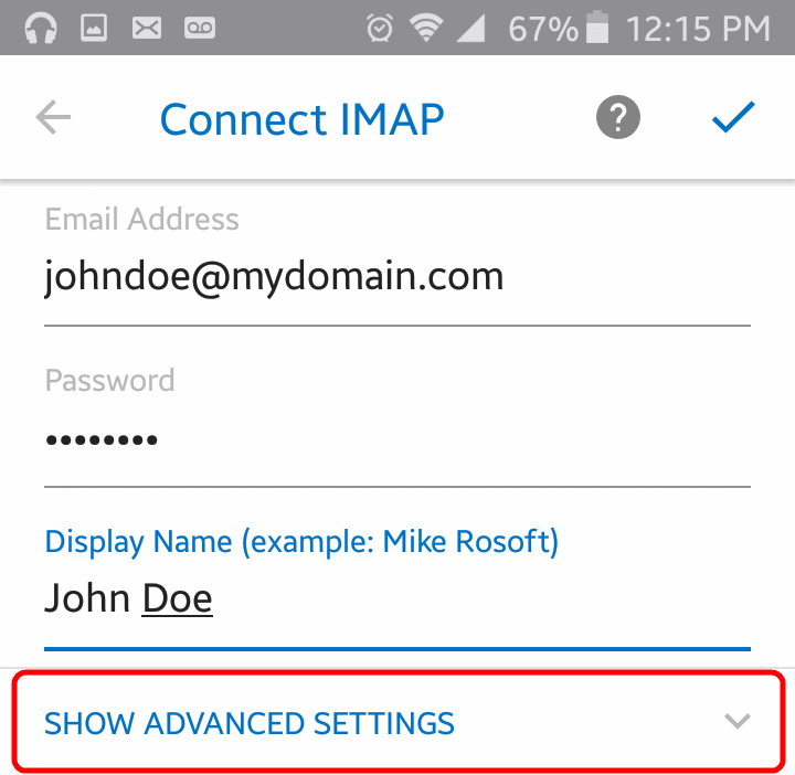 Setup Outlook App (Android or iOS) for IMAP | Scarab Media News