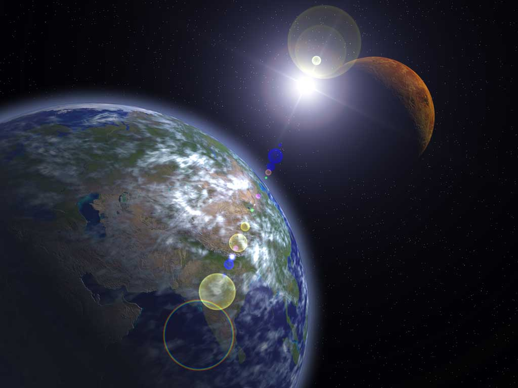 New Insight Into The Creation Of Earth Amp Mars