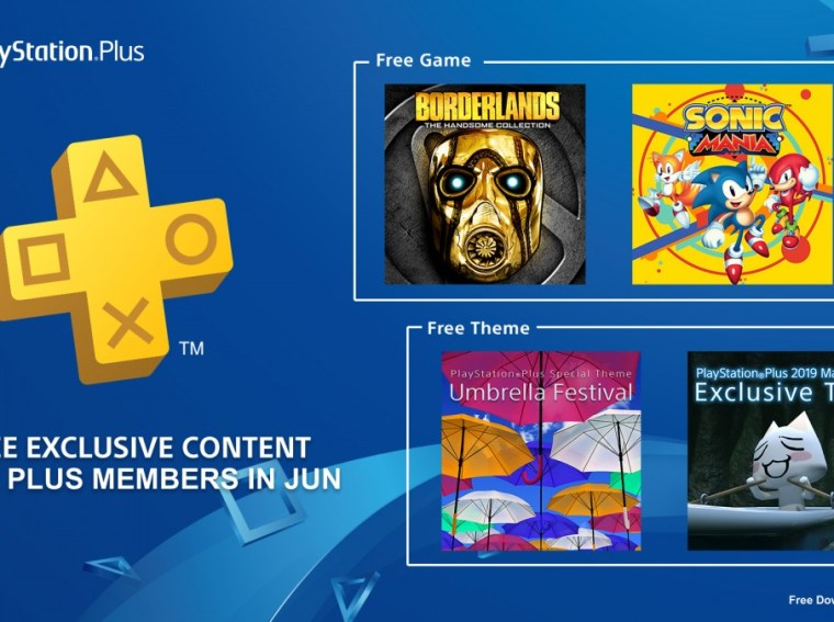 PlayStation Plus Free Games June 2019