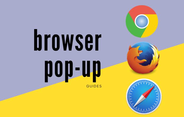 browser pop-ups