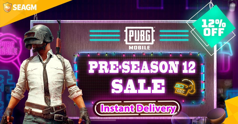 Pubg M Pre Season 12 Sale Buy Discounted Uc Now Seagm News