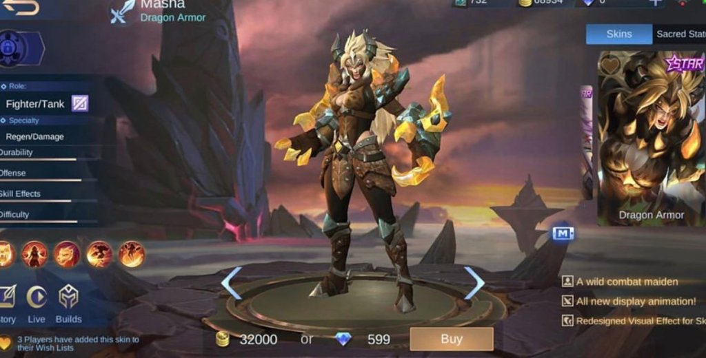 Mobile Legends Bang Bang Mlbb Yu Zhong New Skins 30 Off Ender dragon boy with ender armor. mobile legends bang bang mlbb yu