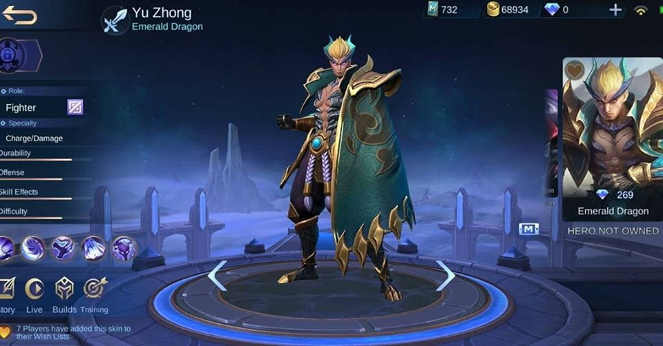 Mobile Legends Bang Bang Mlbb Yu Zhong New Skins 30 Off Dragon armor png cliparts, all these png images has no background, free & unlimited downloads. mobile legends bang bang mlbb yu