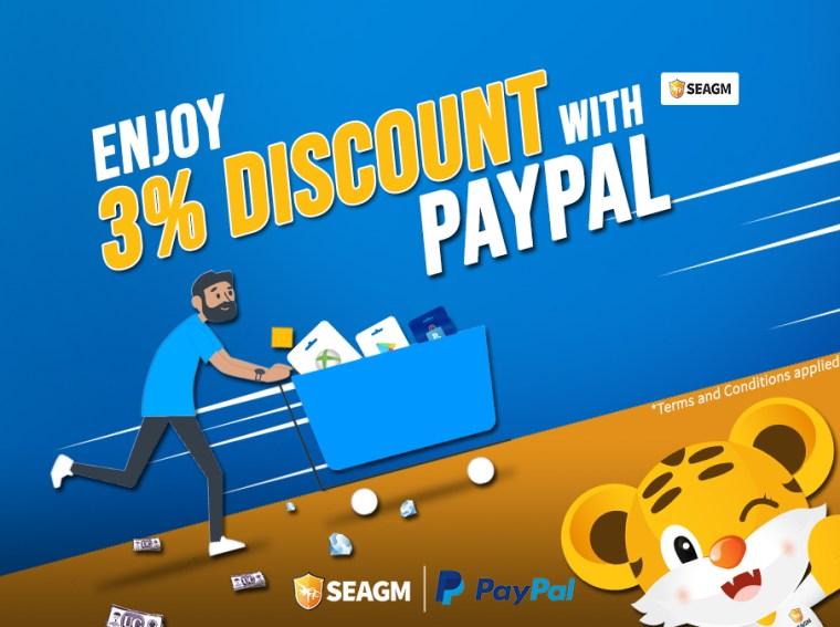 seagm paypal promo 2020