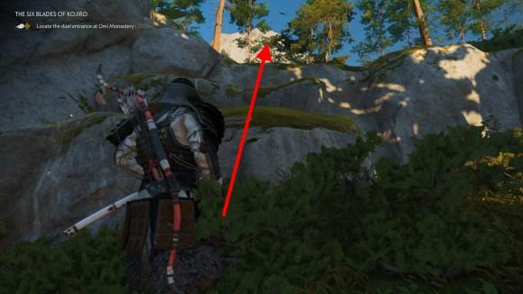 kensei armor quest location