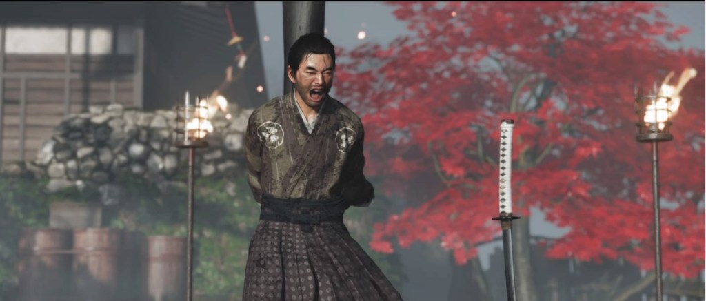 ghost of tsushima taka death