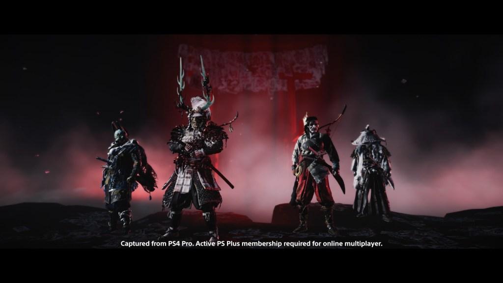 ghost of tsushima legends multiplayer