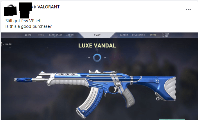 get valorant skins