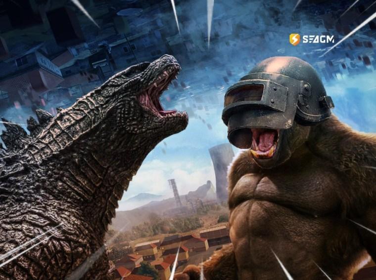 PUBG King Kong vs Godzilla masterramen