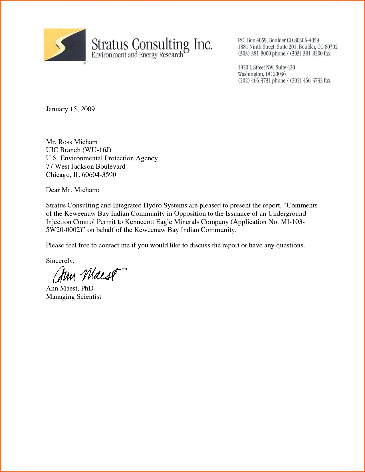 Business Letter Header Template News