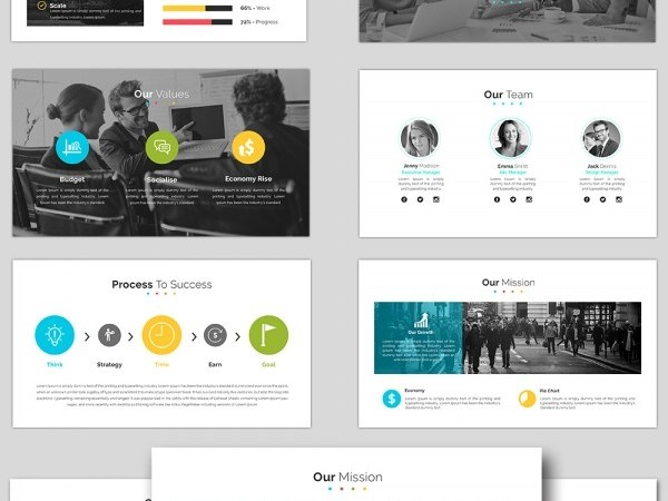 Cool Business Powerpoint Templates