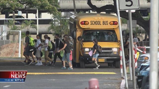 Public schools open Monday, except four on Maui