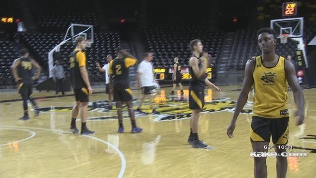 Wichita, Kansas News, Weather, Sports – WSU's first day of practice