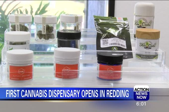 Cannabis Business Opens in Redding