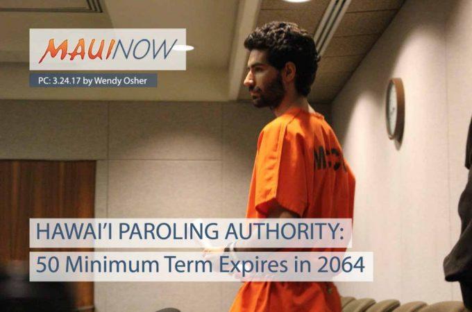 Maui Now : 50 Minimum Term for Capobianco Expires in 2064