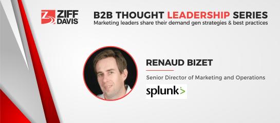 Predictive Marketing At Splunk: Profiling Customers