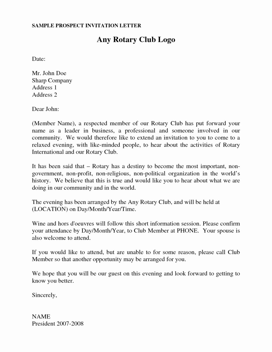 [View 21+] Sample Letter Of Invitation For A Meeting