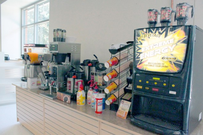 The Bookstore is now serving coffee, tea, other beverages and a variety of food.