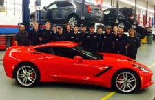 General Motors donates a 2014 Corvette Stingray to Shoreline's Automotive program