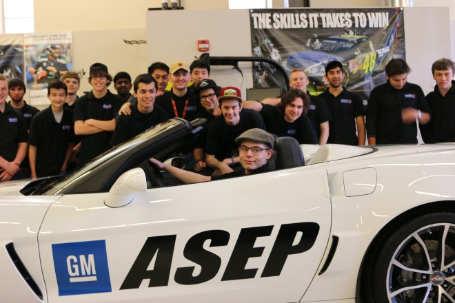 Students in Bellevue High School's Automotive Technology Program took top prize at the SkillsUSA competition on Shoreline's campus this January.