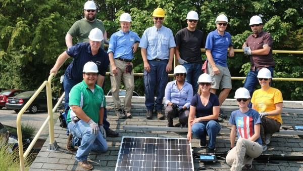 Teachers go green at the Washington STEM Educator Solar Institute