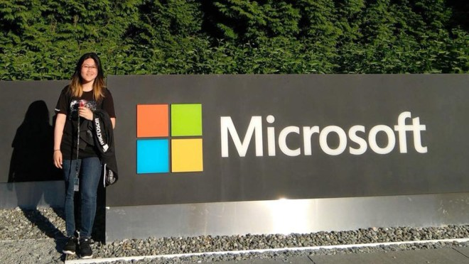Evelyn Mahasin at Microsoft