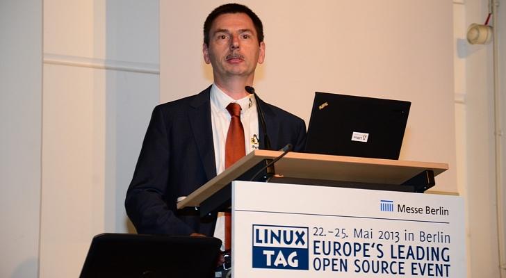 Peter Hofmann en Linux Tag