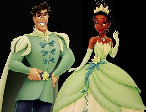 Tiana y Naveen, los protagonistas de La princesa y la rana / Fuente: news.softpedia.com
