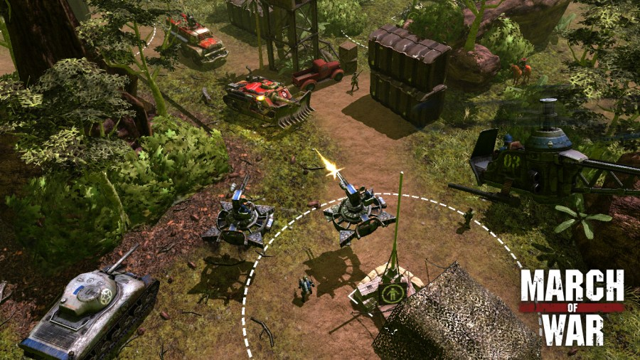 Game  strategy games   Unique Pictures March of War  an Online TurnBased Strategy Game  to Arrive on Linux