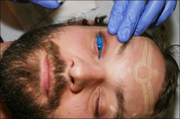 World's First Eyeball Tattoo!