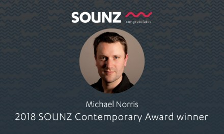 Michael Norris wins SOUNZ Contemporary Award