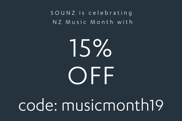 NZ Music Month Sale