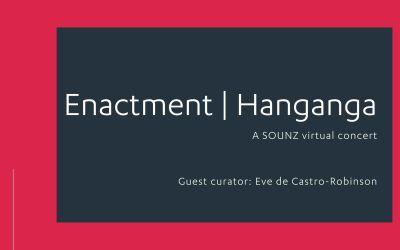 Enactment | Hanganga