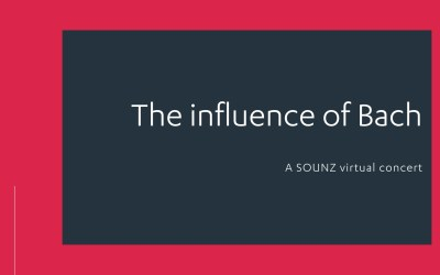 The influence of Bach