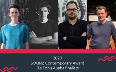 2020 SOUNZ Contemporary Award | Te Tohu Auaha Finalists
